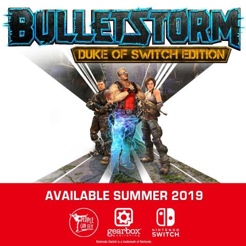 Bulletstorm : Duke of Switch Edition sur Switch