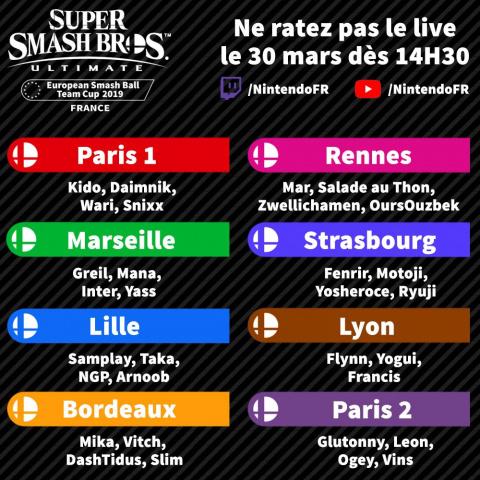 Super Smash Bros Ultimate : Suivez la finale française en direct sur la JVTV !