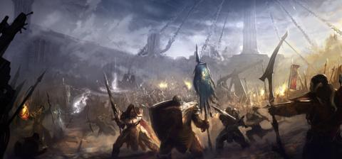 The Elder Scrolls Legends : Guerres d'Alliances sur Android