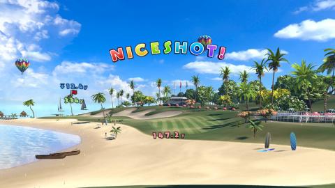 Everybody's Golf VR nous embarque sur le green avant sa sortie en mai