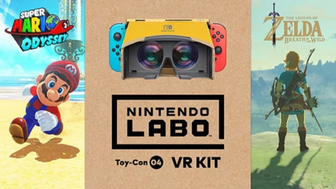 Nintendo Labo upgrade Mario et Zelda ! - Nintendo, Switch, VR