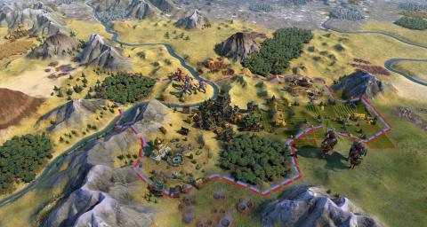 Civilization VI : Firaxis publie un mod pour revenir au style visuel de Civ V
