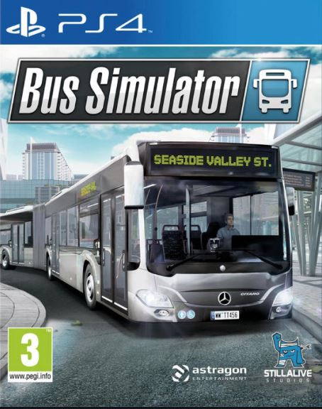 Bus Simulator 18 sur PS4