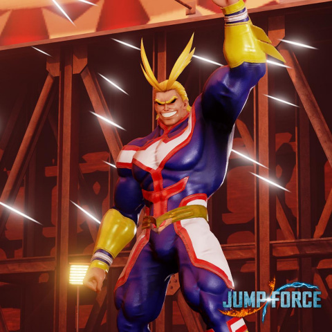 Jump Force : All Might (My Hero Academia) fera régner la justice en mai