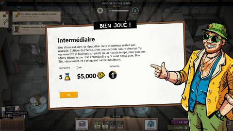 Weedcraft Inc : Un jeu de gestion amusant, fourni, mais accessible