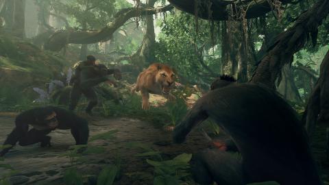 Ancestors : The Humankind Odyssey - le jeu de survie sortira du bois en août sur PC