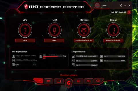 PC Portable MSI GS75 8SF : Technologie RTX et mobilité font-elles bon ménage ?