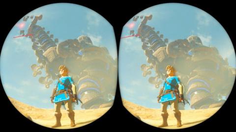 The Legend of Zelda : Breath of the Wild - des précisions sur le mode VR