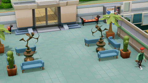 Two Point Hospital : La mise à jour Collectif Supervirus datée fin avril