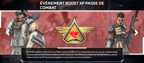Apex Legends : bonus d'XP et équilibrage au programme du patch 1.1.1