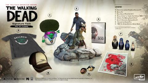 The Walking Dead : une édition ultime avec trois packs collectors pour la série de Telltale