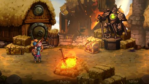 De nouvelles images pour SteamWorld Quest
