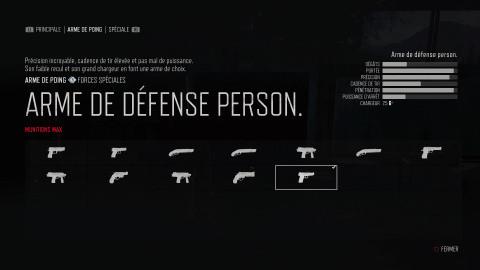 Quelles sont les meilleures armes ?