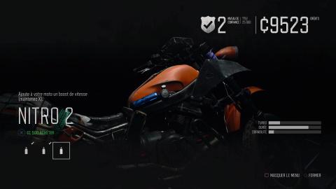 La moto de Deacon : tutoriels et guide