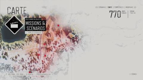 Localisation des 12 caïrns d'anarchistes