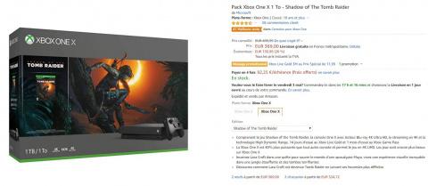 French Days : Xbox One X et Nintendo Switch, les bons plans Amazon du jour