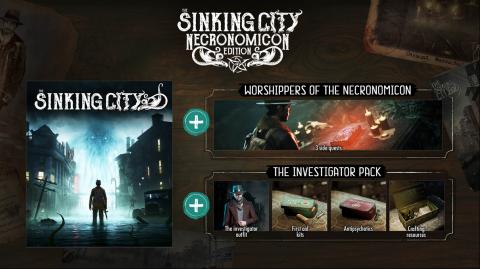 [MàJ] The Sinking City : un jeu Sherlock Holmes offert en bonus de précommande