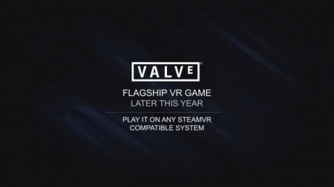 Valve sortira son premier gros jeu VR cette année