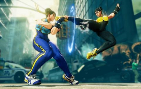 Street Fighter V s'offre des paires de chaussures limitées