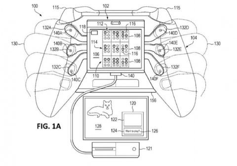 Xbox : Un brevet pour une manette capable d'afficher le braille