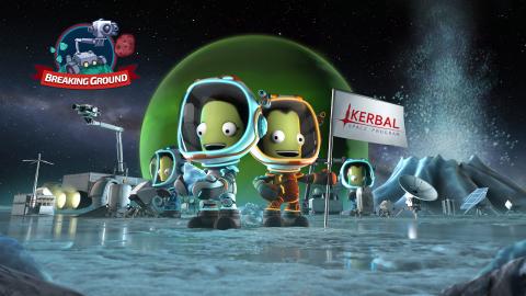 Kerbal Space Program présente sa seconde extension