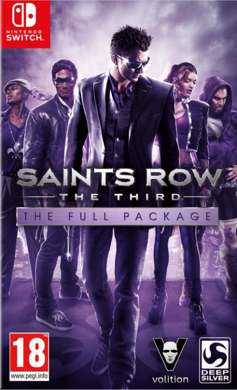 Saints Row : The Third - Full Package sur Switch