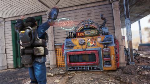 Fallout 76 : sacs à dos, machines de vente... les détails du patch 9