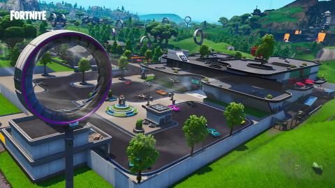 Fortnite : une saison 9 futuriste avec l'apparition de Neo Tilted et Mega Mall
