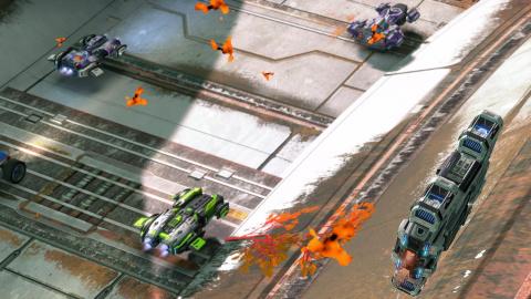 GRIP : Combat Racing se met aux courses antigravité avec la mise à jour AirBlades
