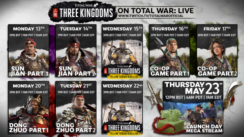 Total War : Three Kingdoms - du gameplay en campagne multijoueur