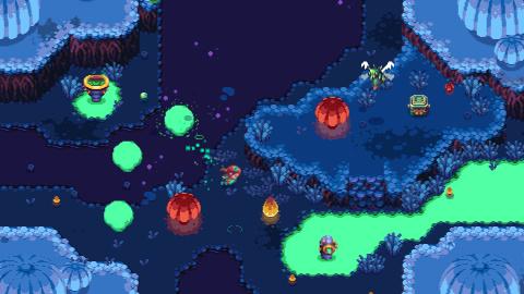 Sparklite : Le rogue-like de Merge Games prévu pour octobre