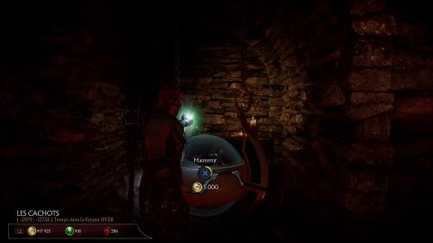 Les souterrains de la Krypte
