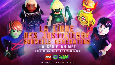 LEGO DC Super-Vilains : La nouvelle Ligue des Justicier entre dans la danse