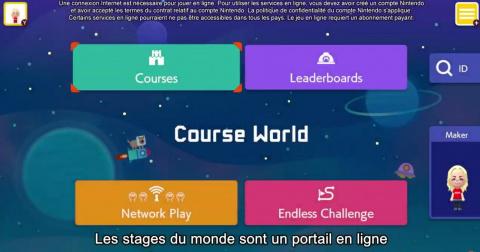 Super Mario Maker 2 : pas de multijoueur en ligne entre amis