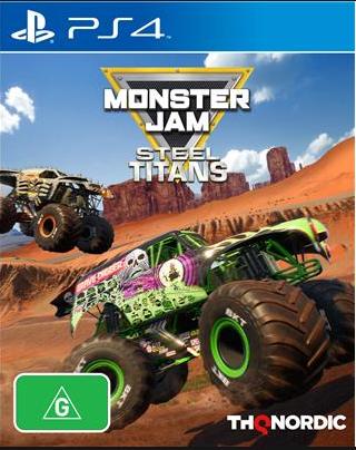 Monster Jam Steel Titans sur PS4