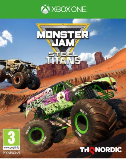 Monster Jam Steel Titans sur ONE