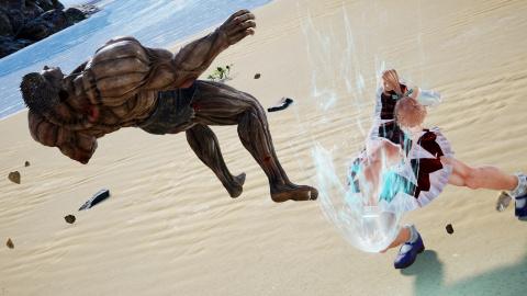 Jump Force : Biscuit Kruger prépare son arrivée en images
