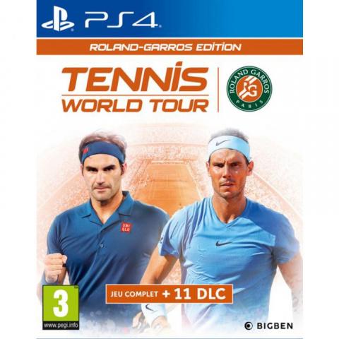 Tennis World Tour Roland-Garros Edition sur PS4
