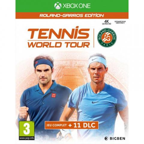 Tennis World Tour Roland-Garros Edition sur ONE