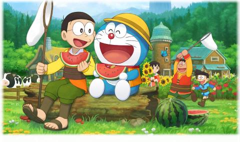 Doraemon Story of Seasons sur Switch