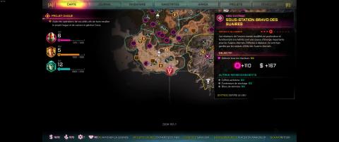 Blocs de données de la région de la Mer des Dunes