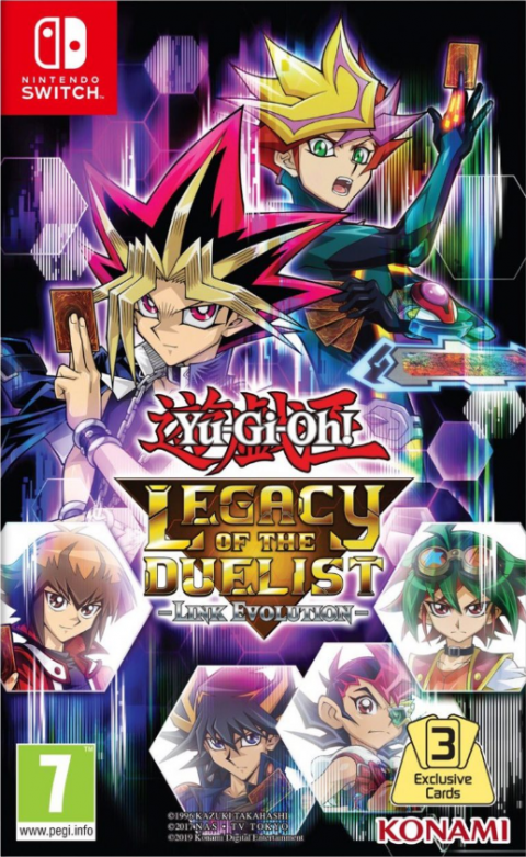 Yu-Gi-Oh! Legacy of the Duelist : Link Evolution sur Switch