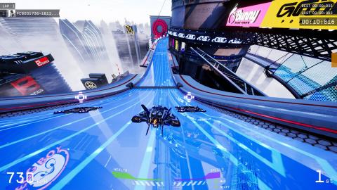 Pacer : nouveau tour de piste futuriste pour le WipEout-like - gamescom 2019