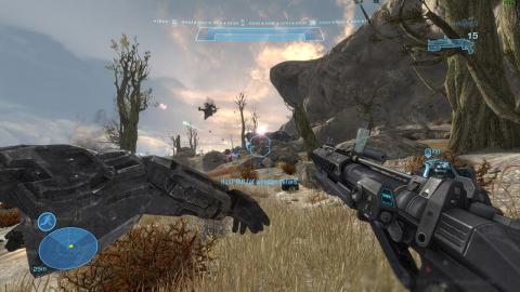 Halo : The Master Chief Collection - un premier aperçu du portage PC de Halo Reach