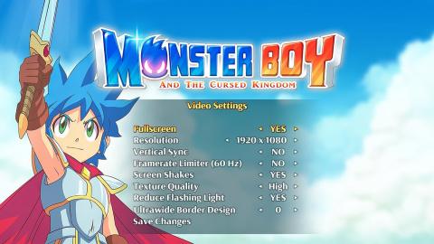 Monster Boy et le Royaume Maudit : le metroidvania arrive sur PC en juillet