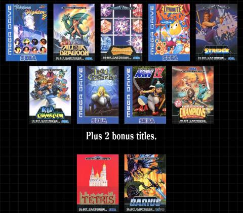 Mega Drive Mini : SEGA dévoile les douze derniers jeux du catalogue