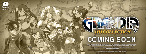 Grandia HD Collection sur Switch