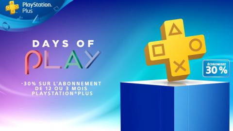 PS Store / PS+ : avalanche de promotions pour les Days of Play !