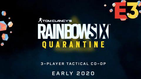 E3 : Ubisoft dévoile le jeu coop Tom Clancy's Rainbow Six Quarantine