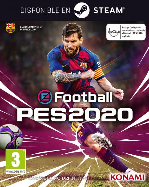eFootball  PES 2020 sur PC